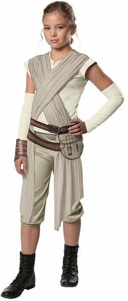 Star Wars Girls' Rey Deluxe Child Costume Rubie's Force Awak