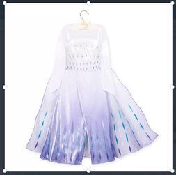 Disney Store Snow Queen Elsa Deluxe Costume for Kids – Siz