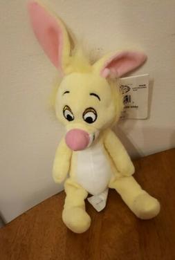 "Disney Store Winnie the Pooh Rabbit 7"" Bean Bag Plush Stuffe"