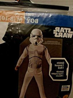 Star Wars Storm Trooper Child Costume Child Size M 8-10