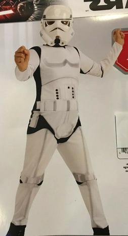 Star Wars Storm Trooper Child Costume Padded Jumpsuit Mask S