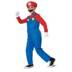 Super Mario Bros - Mario Deluxe Child Costume New Style Disg