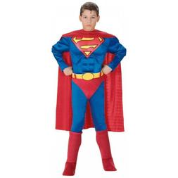 Superman Costume for Kids Toddler Boys Superhero Halloween F