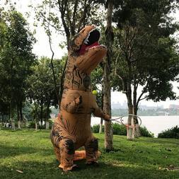 T-rex Inflatable Dinosaur Costume Adult/Kids Jurassic Blow U