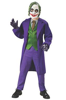 Brand New The Dark Knight Batman Deluxe The Joker Child Cost