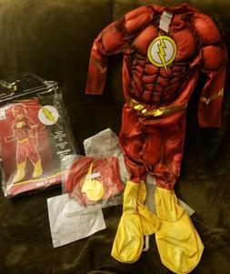The Flash - DC COMICS ORIGINALS MUSCLE Child Costume - Size