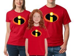 The Incredibles T-shirt Disney Family Halloween Costume Shir