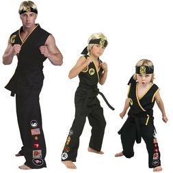 The Karate Kid Cobra Kai Japan Taekwondo Uniform Cosplay Kar