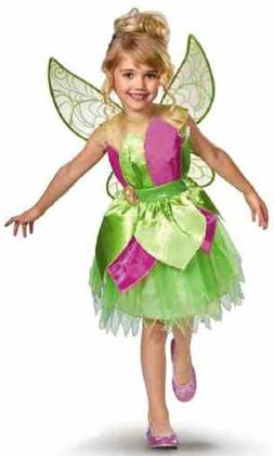 Tinker Bell Disney Fairies Peter Pan Fancy Dress Halloween D