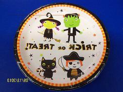 "Tiny Terrors Costume Cute Kids Halloween Theme Party 9"" Pape"