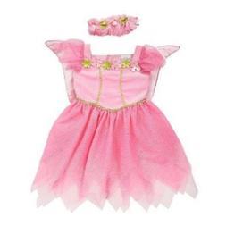 Koala Kids Toddler Girls Pink Fairy Princess Costume with Bu