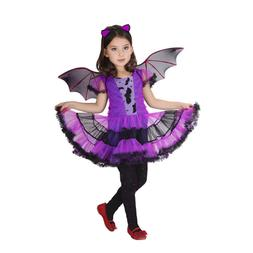 Toddler Kids Baby Girl Halloween Clothes Costume Dress+Hair