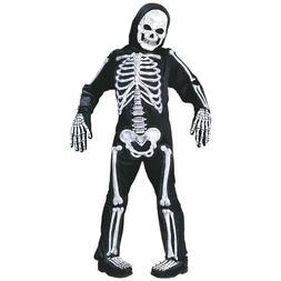 Totally Skelebones White Skeleton Child Halloween Costume |