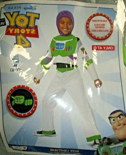 Toy Story 4 Buzz Lightyear Child Boys Halloween Costume, Glo