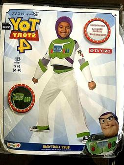 Toy Story Buzz Lightyear Kids Costume Movie Disney Pixar Sma
