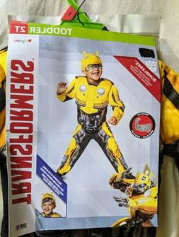 Transformers Bumble Bee Muscle Costume for Kids Halloween Ju