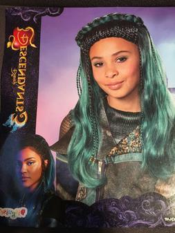 Uma Girls Child Disney Descendants 3 Halloween Costume Wig