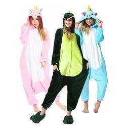 Unisex Kids Adults Unicorn Pajamas Cosplay Sleepwear Costume