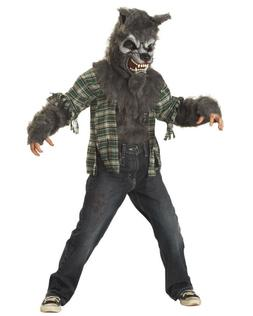 WEREWOLF HOWLING AT THE MOON HALLOWEEN COSPLAY CHILD MOVIE C