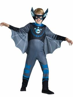 Incharacter Wild Kratts Bat Blue Standard Boys Kids Hallowee