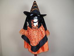 Koala Kids Witch Halloween Costume Dress Up Girls Size 9M Mo