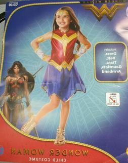 Wonder Woman Movie DC Child Girls Kids Rubies Halloween Cost