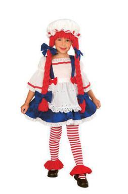 Yarn Babies Rag Doll Girl Child Halloween Costume