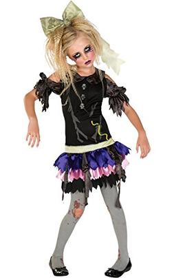 Zombie Doll Costume, Small