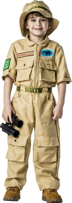 Zookeeper Costume For Kids - Safari Explorer Set By Dress Up